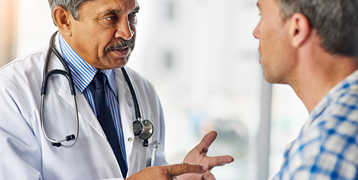 Doctor Having Advance Care Planning Conversation