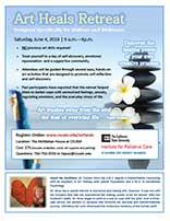 Art Heals for Widows Brochure
