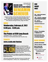 Benjamin Scheuer Event Brochure