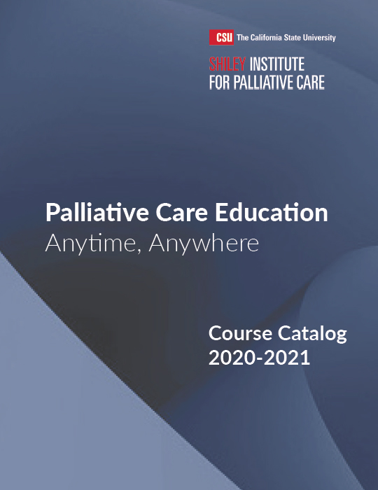 Palliative Care Course Catalog 2017