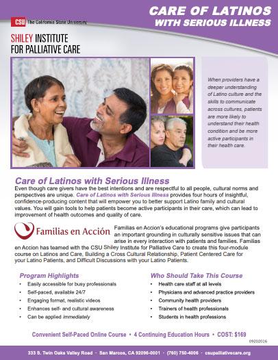 Latinos Brochure