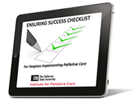 Ensuring Success Checklist on Tablet