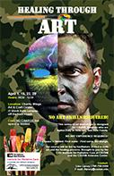 Healing Through Art Brochure