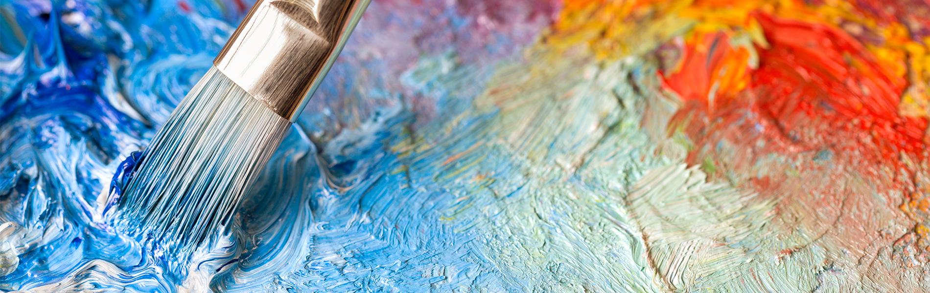 Healing Through Art Painting