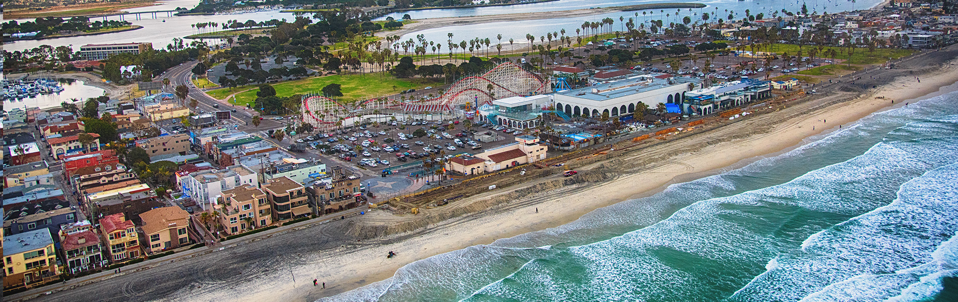 Beaches and Entertainment in San Diego California