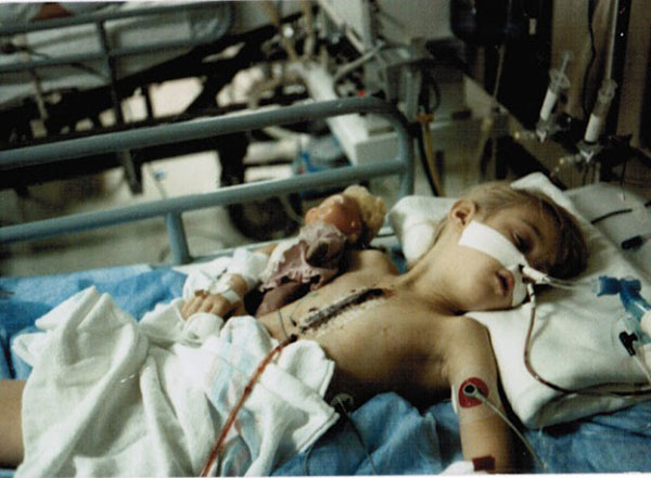 Child in Surgery