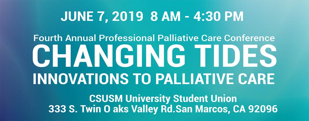 2019 Palliative Care Conference