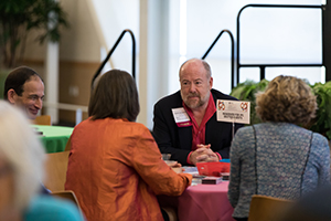 Symposium Attendees Discuss Palliative Care in Breakout Session